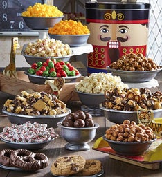 Nutcracker Tin Premium Snack Assortment
