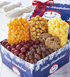 Winter Wonderland Snack Gift Box