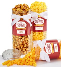 3 Canister Pack of Classic Popcorn Flavors