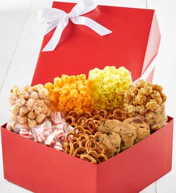 Simply Red Snack Box