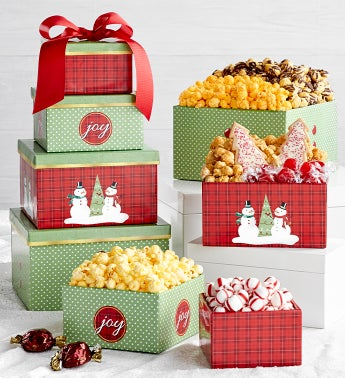 Magical Holiday 4-Tier Gift Tower