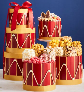 Nutcracker Drum 3-Tier Tower