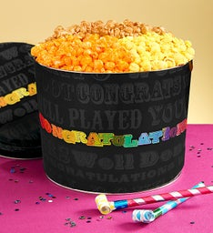 Say It In Color Popcorn Tins