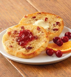 Cranberry Citrus Traditional Muffins