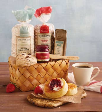 English Muffin Sampler Basket