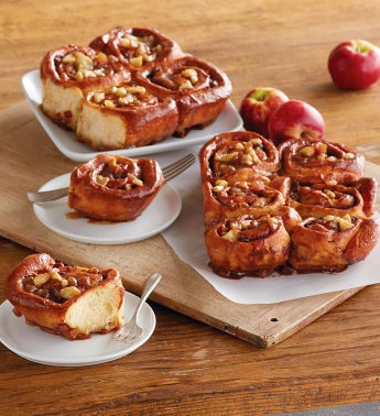 Caramel Apple Sticky Buns - 2 Trays